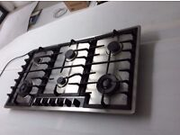 Neff gas hob 6 burners stainless steel. Very good condition.