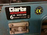 Clarke metalworker BAND SAW