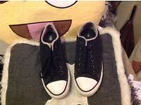Black converse 6