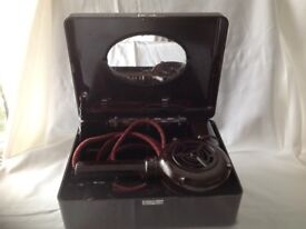 Vintage ormond Bakerlite hairdryer in original fitted case