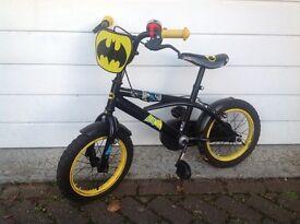 """Batman bike 14"""" wheels"""