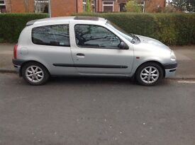 RENAULT CLIO 1400S RARE SPORT MODEL WITH COIL OVER SUSPENSION