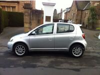 2005 Toyota Yaris 1.0 VVTI 16v Colour collection Only 68k! 5 door hatchback, Manual