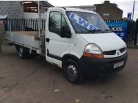 2010 RENAULT MASTER EXCELLENT CONDITION LONG MOT XLWB PICK UP LIGHT WEIGHT ALLOY BODY ** BARGAIN**
