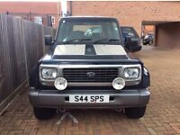 Daihatsu fourtrak 2.8 very good example