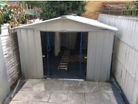 £60.00 Metal Shed 280 x 385 cm collection ASAP in SE1 5HF any offers welcome