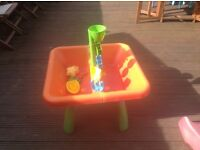 Sandpit and water table
