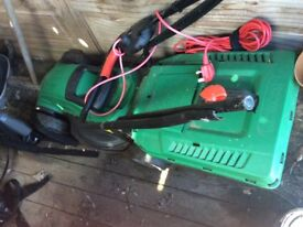 Qualcast lawnmower with grass collector