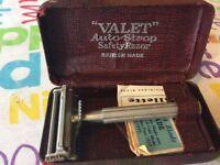 Valet safety razor