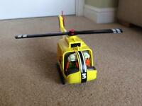Play mobile air ambulance helicopter, ambulance and operating theatre