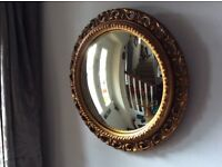 Lovely Old Fish Eye Mirror in good used condition see description & photos.