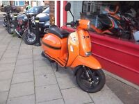 Scomadi Tl125 orange