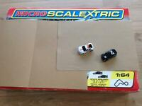 MICRO SCALEXTRIC SET 2 CARS IN VGC