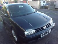 VW Golf 2003 Automatic with MOT £1200