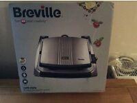 NEW Breville Cafe Style Panini Sandwich Press
