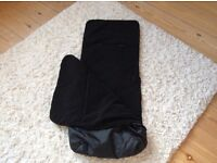 Kiddicare black cosy toes excellent condition