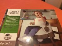 Mamas and Papa's BRAND NEW Baby Bud Booster seat