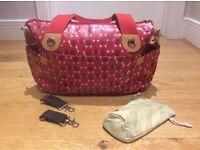 Storksak Kate nappy bag (incl buggy clips)