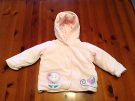 Baby girls snugly coat Marks & Spencer