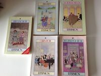 5 secondhand Mapp and Lucia paperback books, old but in good condition