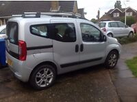 Fiat Qubo 1.3 Multijet Dynamic 5dr WAV. Low mileage, excellent condition inside & out.