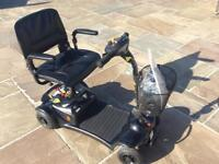 Rascal 480 boot scooter hardly used perfect condition