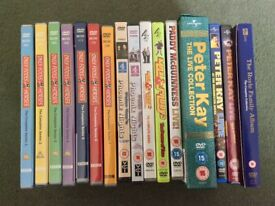 DVD collection includes only fools and horses.