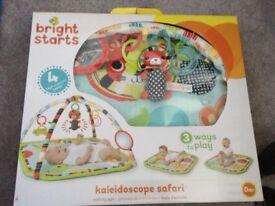 Bright stars newborn+ playmat, brand new never used