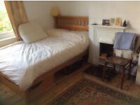 Lovely Double Room in Beautiful House, Big Garden, Wood Burner, Quiet Road
