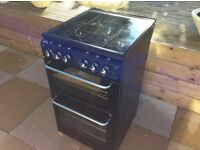 Black Neworld All Gas Cooker Like New Never Used 50cm Wide (Delivery Available)