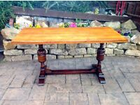 VINTAGE UPCYCLED TABLE c1890's BEAUTIFUL TABLE - can deliver