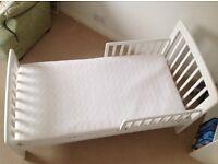John Lewis Junior Child's / Toddler Bed With Mattress