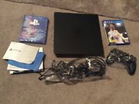 SONY PS4 500GB CONSOLE - FIFA 18 BUNDLE. USED ONCE!