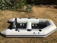 Zodiac Bombard AX3 Tender good condition. Oars Foot pumps Electric pump Repair kit