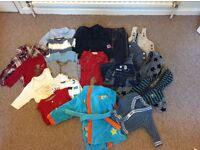 Huge bundle baby boys clothes 3-6 and 6-9