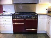 Rangemaster 110 Gourmet 'dual fuel' range cooker and Rangemaster hood