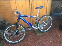 Mountain Bike. CARRERA KRAKEN. excellent condition with helmet and lights