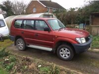 Toyota Landcruiser Colorado FX Auto - 2000 (X Reg) 2 previous owners lovely condition 102K miles