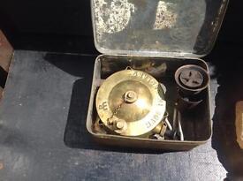 Primus stove in original tin box