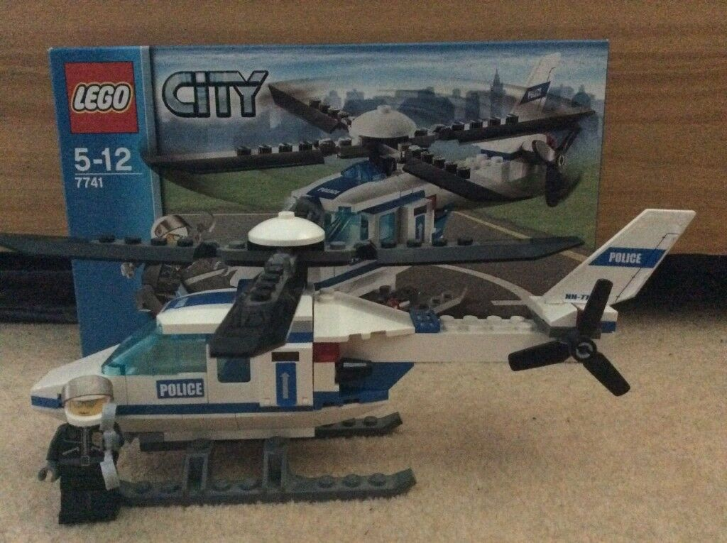 Lego City Police Helicopter 7741 In Southampton Hampshire Gumtree