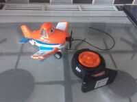 Remote control dusty crophopper plane