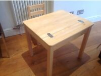 Pintoy Natural Desk and Chair for Children. Normal retail price £120. Very good condition.