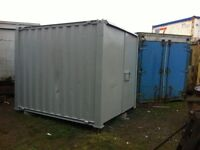 10Ft Site secure steel container