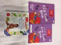 Annabel Karmel's and Ella's Kitchen weaning books