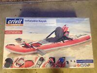 Inflatable kyack