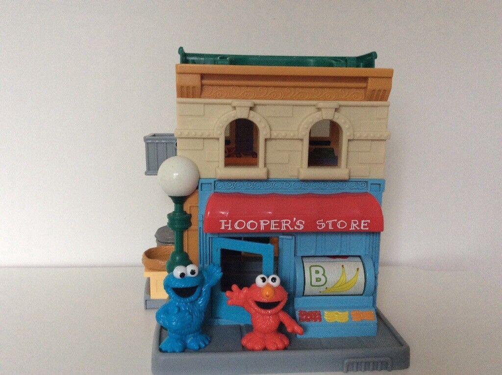 Sesame Street Hooper's Store playset