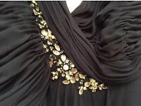 Prom/Bridesmaid Dress brand new navy designer dress