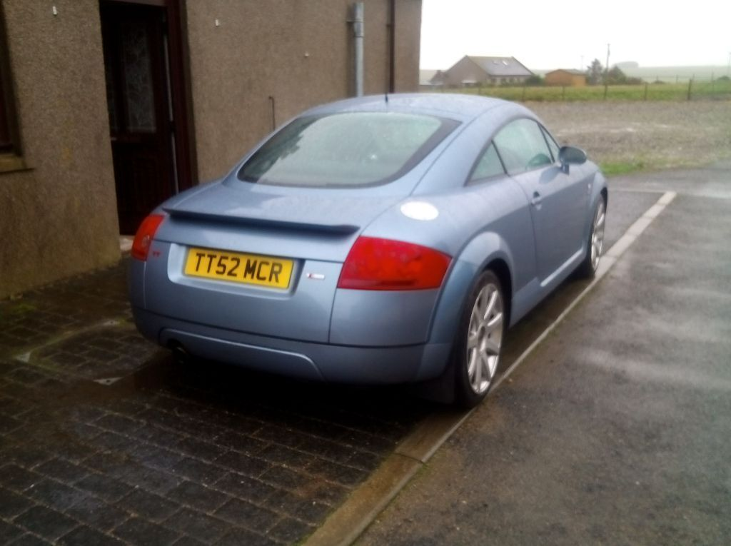 late 2003 audi tt on a december 53 plate in stunning sky blue 180 quattro in peterhead. Black Bedroom Furniture Sets. Home Design Ideas