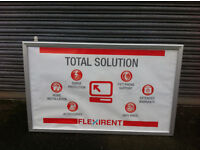 Shop Signs illuminated Heavy Duty, Indoor and Outdoor Large Selection