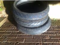 motorcycle tyre 3 off front 120/70/17